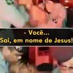 Policiais militares 'exorcizam' homem durante abordagem em Goiás