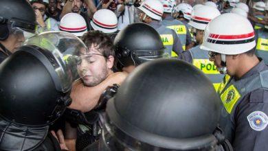 Photo of Manifestação contra falta d'água tem tumulto na Avenida Paulista